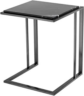 Marble Side Table | EICHHOLTZ Cocktail | Modern Sophisticated Contemporary Stylish Bronze Accent Table Perfect for Living Kitchen nightstand