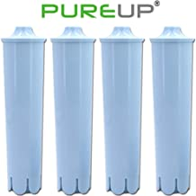PUREUP Water Filter Compatible for Jura Clearyl Claris Blue Filter Capresso Coffee Machines Replacement 4pack