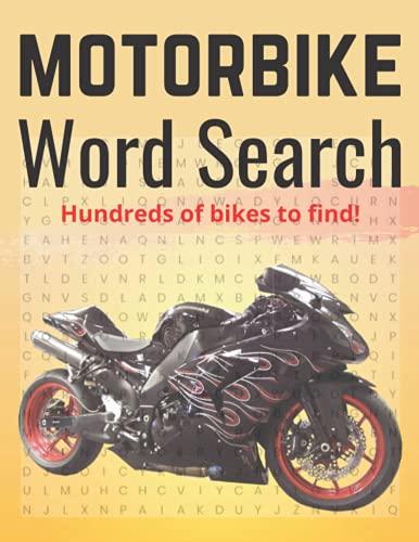 mountain bike yamaha Motorbike Word Search: For bikers
