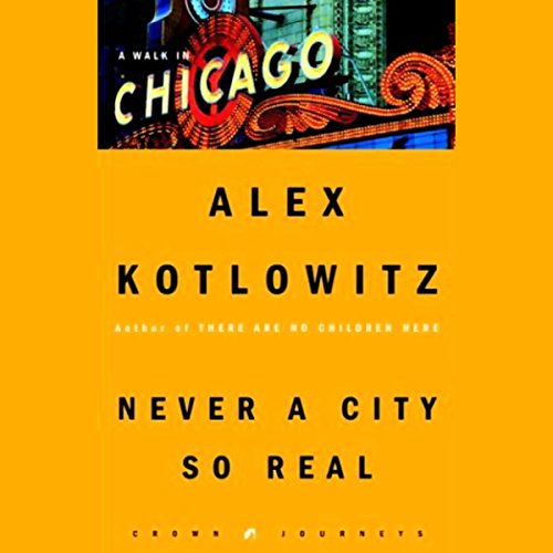 Never a City So Real audiobook cover art