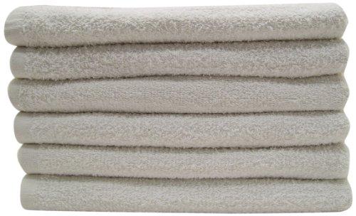 "100% Cotton Terry Towel Barmop, Grade B, Assorted Sizes 14""x17"" to 16""x19"", 10Lb Carton"