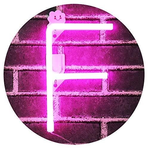Obrecis Pink Neon Buchstabe 37 Neon F