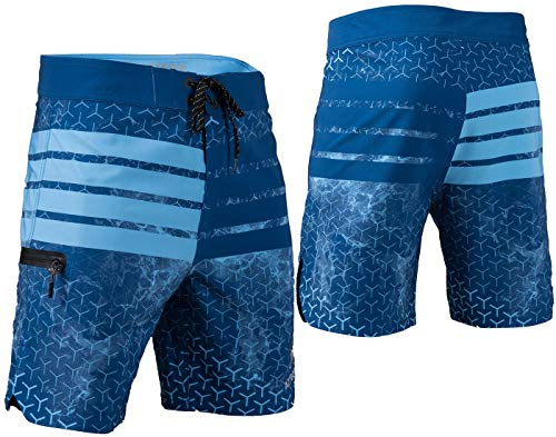 Aztron Space Herren Short Hose Boardshort Wakeboard Swimshort Blue