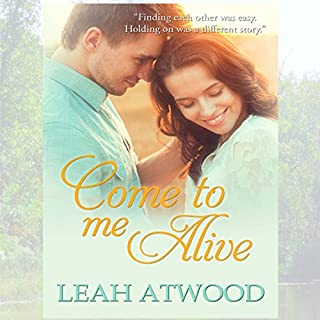 Come to Me Alive: A Contemporary Christian Romance Novel                   By:                                                                                                                                 Leah Atwood                               Narrated by:                                                                                                                                 Pamela Almand                      Length: 7 hrs and 9 mins     2 ratings     Overall 3.5