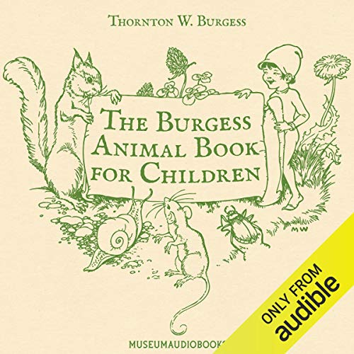 The Burgess Animal Book for Children audiobook cover art