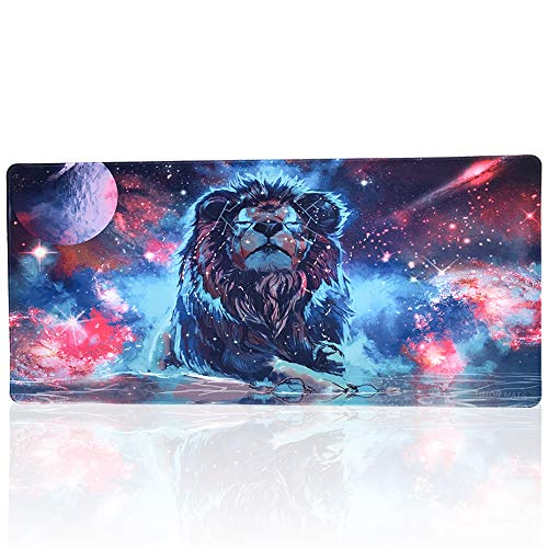 Timor Professional Gaming Mouse Pad, Custom Design Stitched Edges Waterproof Non-Slip Rubber Base Mousepad Great for Laptop, Computer & PC (90x40 shiziA10)