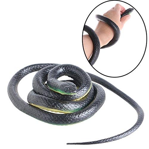 Nankod Serpents En Caoutchouc Réaliste Cadeau Gag Effrayant Créatures Incroyables Serpents En Chaîne 52 Pouces Forêt Tropicale Snake Jouets Vie Sauvage Serpents