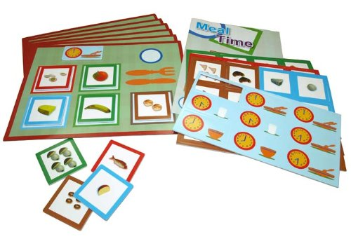 Generic Jeu magnétique Learn and Play World Discovery Meal Time