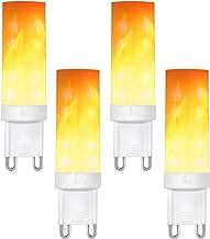 G9 Flame Lamp Flicking Flame Lamp LED Gloeilamp 4 W Brand Effect Lamp Voor Kerstmis Halloween Patio De 4Pack