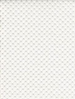 Pearl Perforated Distressed Upholstery Faux Leather Vinyl Fabric Per Yard