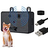 Dacitiery Anti Barking Device, Waterproof Ultrasonic Dog Bark Deterren with 3 Adjustable Levels up to 50 Ft Range, Hangable Outdoor Bark Stopper for Dog Training, Bark Control, Safe for Human Dogs