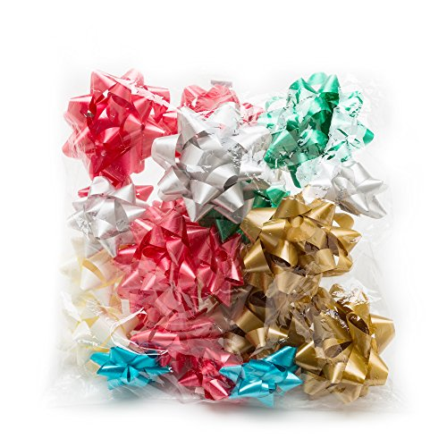 Hallmark Holiday Bow Assortment (20 Gift Bows, 2 Sizes) for Christmas Presents and Birthdays