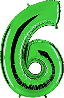 Grabo 036GR-P Number 6 Superloon Single Pack, Length-40 Inch, Colour, Green, One Size