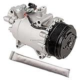 2012 Acura TSX A/C Compressors & Components - For Acura TSX 2.4L 2009-2014 AC Compressor w/A/C Drier - BuyAutoParts 60-88467R2 New