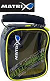 Fox Matrix Pro Accessory Bag S 16x13x8cm - Kleinteiltasche für Angelzubehör & Futterkörbe,...