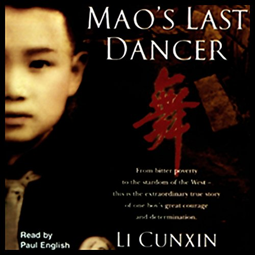 Mao's Last Dancer  audiobook cover art