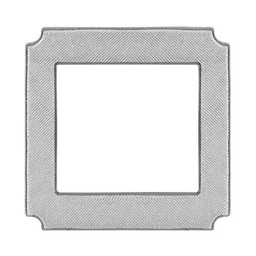 e-Bulk Lingette Microfibre de Nettoyage Pour Robot Laveur De Vitre Ecovacs Winbot X   880 Pack de 2 Unités W-CC2A