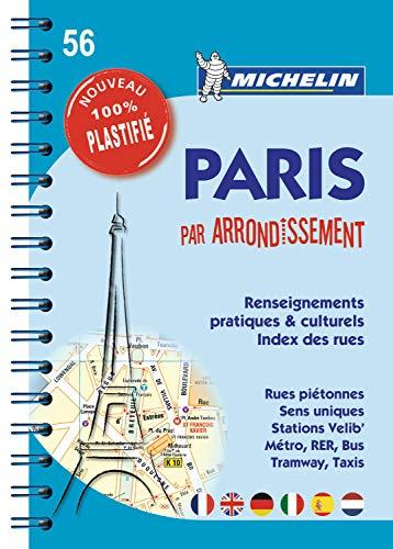 Plan de Paris par arrondissement 100% Plastifié (PLANS (85)) (French Edition)