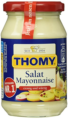 Thomy Salat- Mayonnaise 50%, 12er Pack (12 x 250 ml)