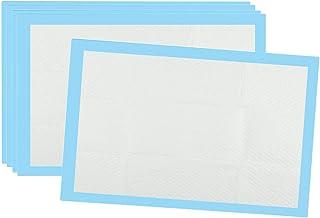 Bonarty Einmalunterlagen Inkontinenzunterlagen Bettunterlage für Inkontinenz, Bettschutz, Körperpflege - Blau, 80x150cm