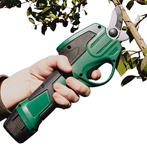 Burwells Bergman 7.2V Cordless Electric Pruner - Gardening Pruning Shears, Branch Cutter, Garden Lopper, Hedge, Trees, Branches & Twigs Shears Cutter