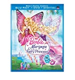 Barbie Mariposa & The Fairy Princess (2 Blu-Ray) [Edizione: Stati Uniti] [Reino Unido] [Blu-ray]