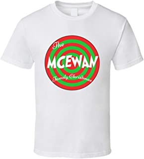 The McEwan Family Christmas Last Name T Shirt