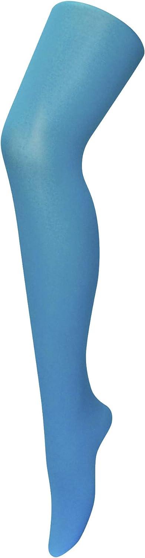 Sock Snob 40 Denier Designer Tights One Size 36-42 Hip, Aqua Blue