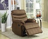 NHI Express Samantha Microfiber recliner, chocolate color