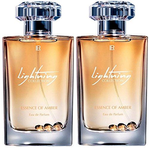 LR Lightning Collection Eau de Parfum Essence of Amber für Frauen (2x 50 ml)