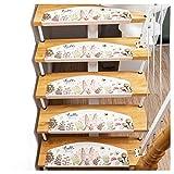 Alfombras Para Escaleras, Durable Antideslizante Anti-estático, la Alfombra de la Estera/Escalera Banda de Rodadura/Paso Alfombra, 65 * 23 * 4cm, Múltiples Opciones