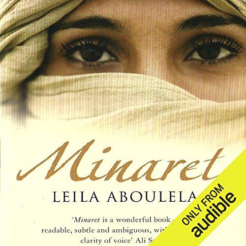Minaret audiobook cover art