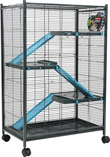 Zolux Cage pour Chinchillas/Furet/Rat Bleu 72 x 43 x...