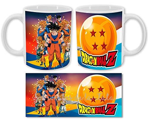 Los Eventos de la Tata. Tazas Dragon Ball Z