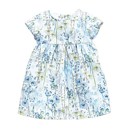 Cover Kleider für Baby Mädchen Blumen Tank-Kleid Kurzarmkleid Sommerkleid