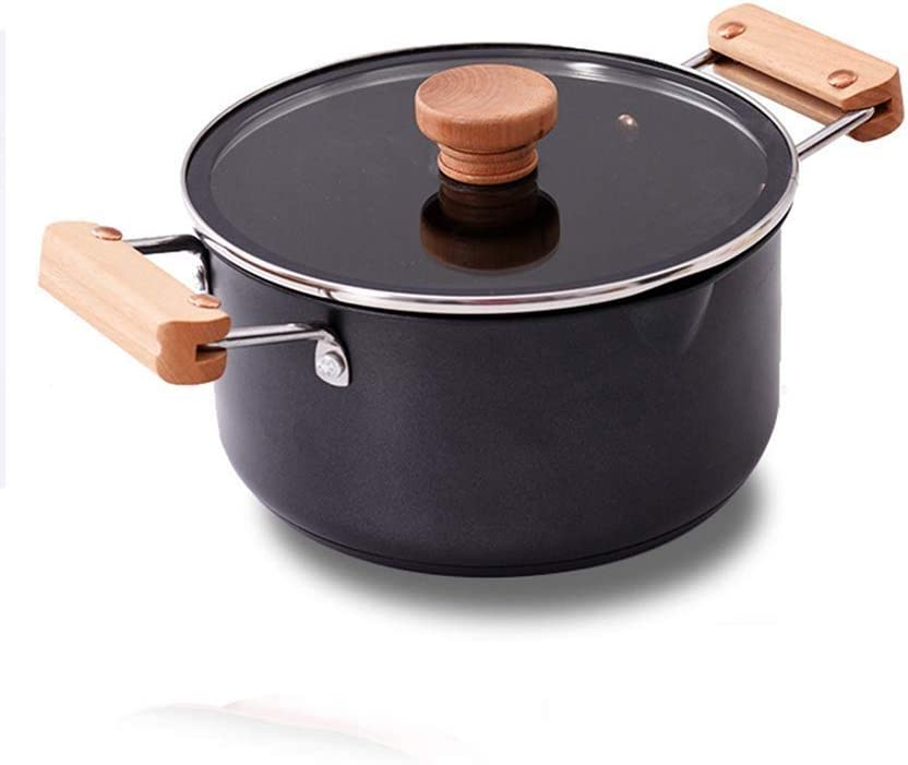 Household pot Cookware Ceramic Nonstick Lid with excellence Ind 5 ☆ popular Casserole