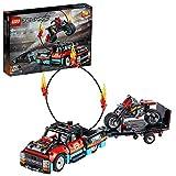 LEGO Technic - Espectáculo Acrobático: Camión y Moto, Set de Construcción de...