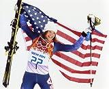 JULIA MANCUSO USA WINTER OLYMPICS DOWNHILL SKIING 8X10 SPORTS ACTION PHOTO (E)