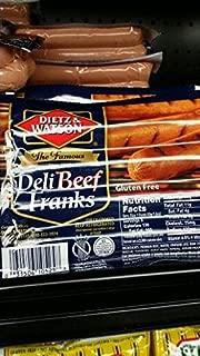Dietz & Watson Deli Beef Franks 14 Oz (4 Pack)