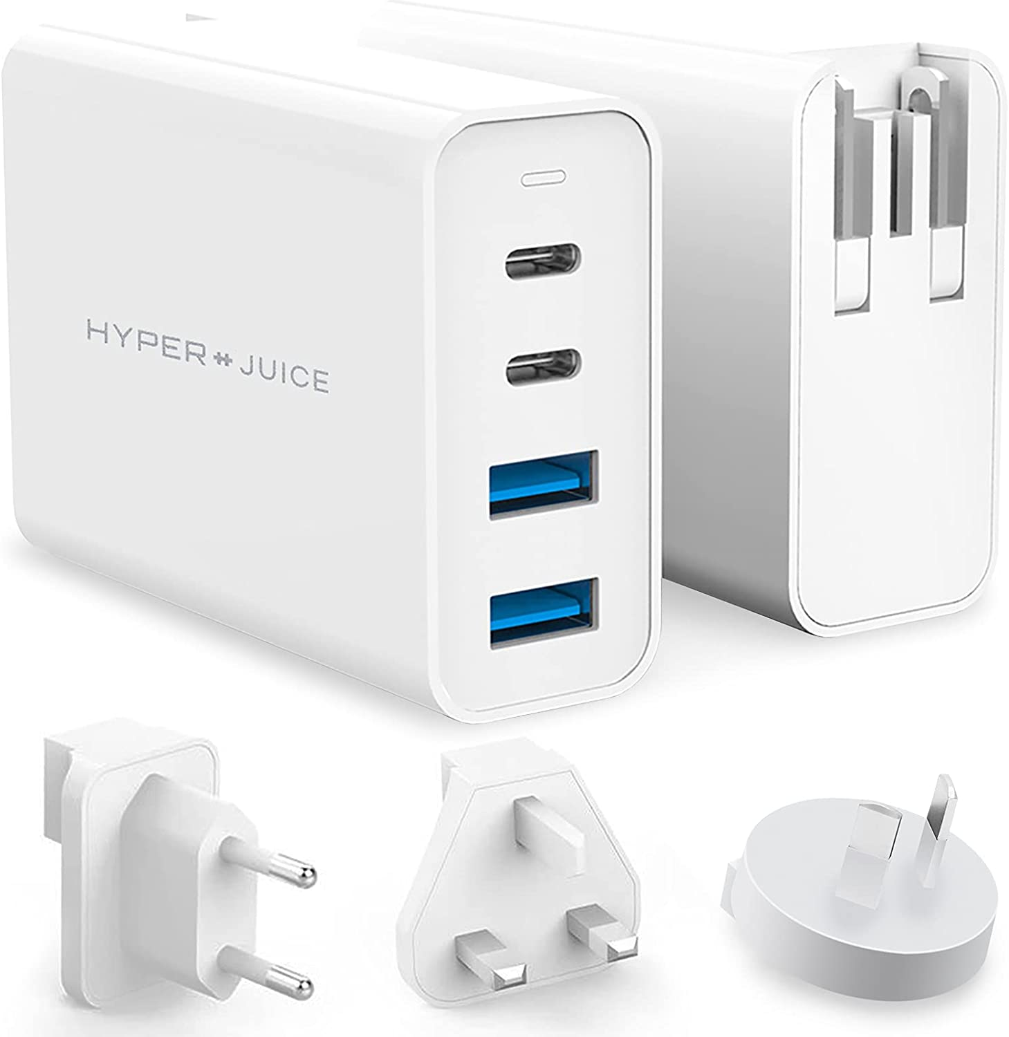HyperJuice NEW before selling ☆ 100W GaN USB-C Fast Charger 3.0 Charge Large special price !! Quick 4-Port