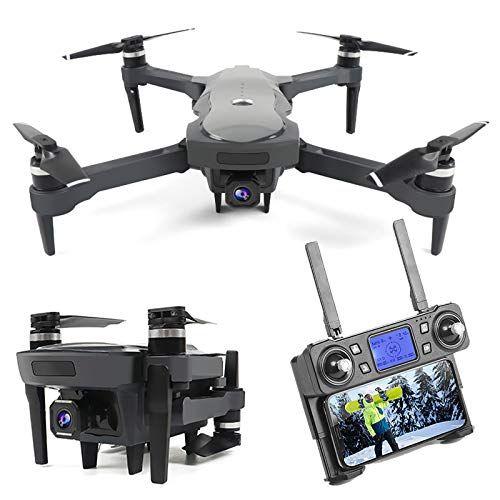 GPS Drone with 4K UHD 50x Zoom Camera, 5G WiFi FPV Live Video UAV with Brushless Motor, RC Distance 1800m, Dual Battery, Best Gift for Adults & Kids