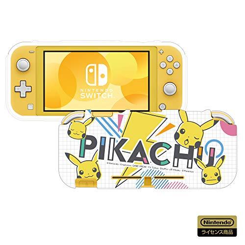 【任天堂ライセンス商品】TPUセミハードカバー for Nintendo Switch ピカチュウ - POP 【Nintendo Switch対...