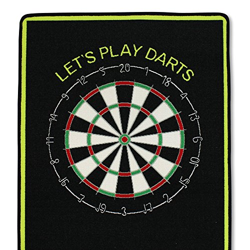 XQmax Dartmatte Let's Play Darts - 4