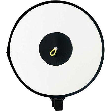 HAMILO ソフトボックス ストロボ装着 スタジオ撮影 照明 直射式 折り畳み式 物撮り 人物 (ブラック)
