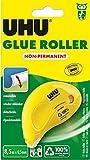 Uhu 50520 - Kleberoller Dry&Clean Non-Permanent, 8.5 m x 6.5 mm