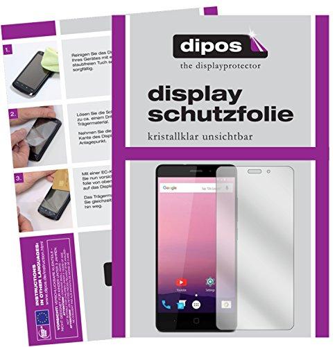 dipos I 6X Schutzfolie klar kompatibel mit Vernee Thor E Folie Bildschirmschutzfolie