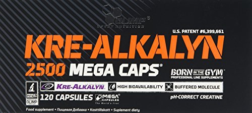 Olimp Kre-Alkalyn 2500 Mega Capsules - Pack of 120 Capsules