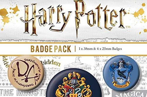 Pyramid International Harry Potter Hogwarts Badge, Multi-Colour, 10 x 12.5 x 1.3 cm