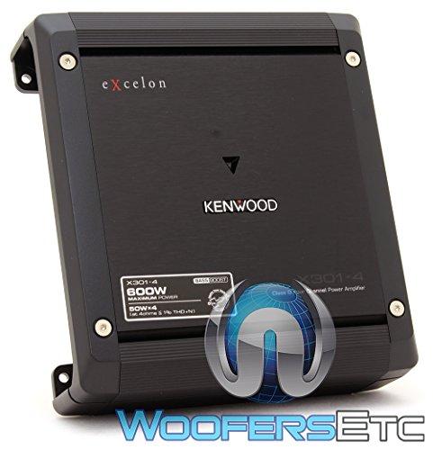 Kenwood Excelon X301-4 4-Channel Car Amplifier