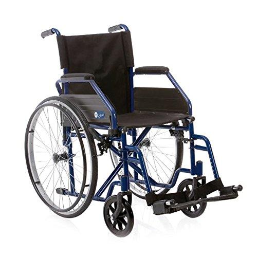 Rollstuhl faltbar–Kinderwagen Behinderte zu Selbst antreibbar 40 cm